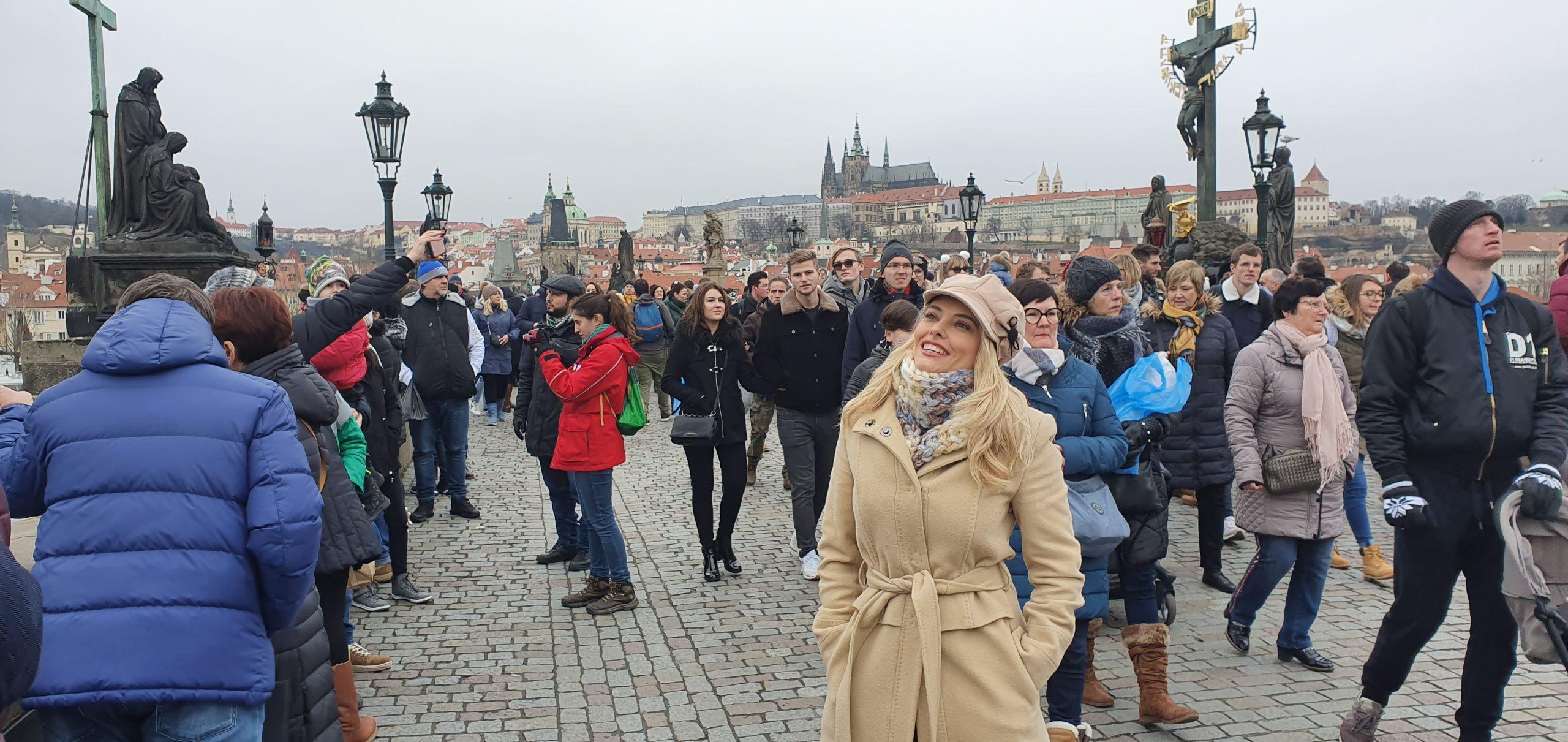 Зимна Прага – Карлов мост, Пражкият замък, красиви фасади и Страховската библиотека (втора част)